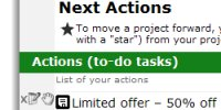 next actions gtd getting things done project management - Nozbe - getting things done gtd software task manager and to-do list for project management and time tracking. Now on Apple iPhone and Mobile Phone!