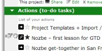 to-do list and task manager software - Nozbe - internetowy program gtd do zarządzania zadaniami i listami spraw. Teraz dostępny również na iPhonie i telefonach komórkowych!